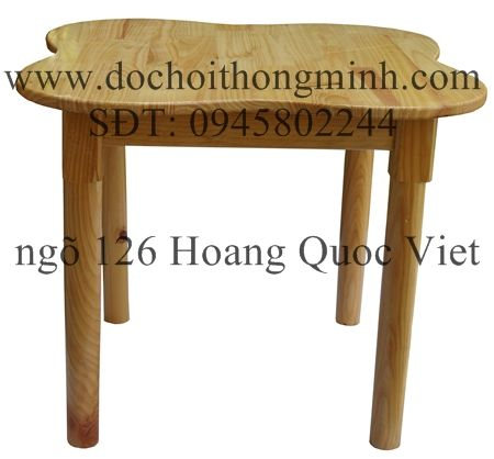 Bộ bàn ghế gỗ cho trường mầm non, nhà trẻ  bàn học sinh, ghế mẫu giáo