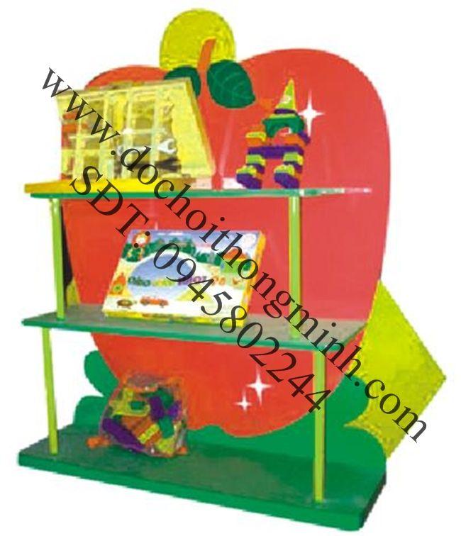 Kệ trưng bày đồ chơi mẫu giáo mầm non