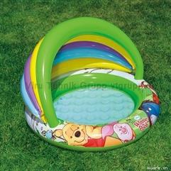 Tặng 10 bóng hồ bơi, bể bóng cho Bé tập ngồi, đáy bơm hơi êm ái, chỉ còn 395 ngàn